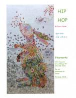 Hip Hop Rabbit Collage Fused Applique Pattern