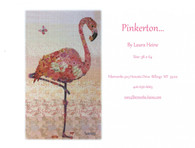 Pinkerton Flamingo Collage Fused Applique Pattern