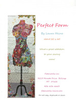 Perfect Form Collage Fused Applique Pattern