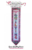 Queen Of Quilting Banner Machine Embroidery CD