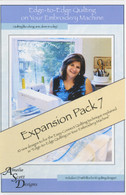 Edge to Edge Quilting Expansion Pack 7 with CD