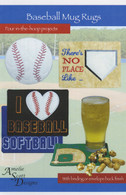 Baseball Mug Rugs with CD