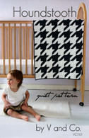 Houndstooth Quilt Pattern by V and Co