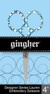 Lauren Gingher Designer Series 4in Embroidery Scissors