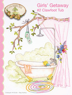 Girls' Getaway #2 Clawfoot Tub Pattern