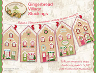 Gingerbread Village Stockings Pattern