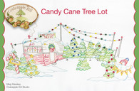 Candy Cane Tree Lot Pattern