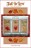 Fall in Love Table Top Display Embroidery Design CD
