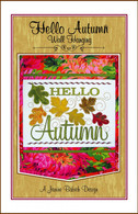 Hello Autumn Wall Hanging Embroidery Design CD