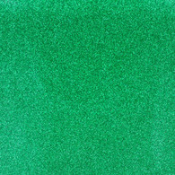 Glitter Mirror Canvas Vinyl Roll 12in x 54in Christmas Green