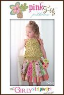 The Girly Stripwork Skirt