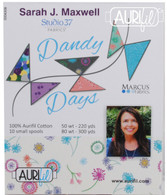 Aurifil 10 Small 80wt and 50wt Small Spool Dandy Days Collection by Sarah Maxwell