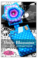 Hexie Blossomz Pincushion and Thread Catcher Pattern