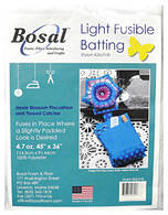Light Fusible Batting  for Hexie Blossom Pincushion and Thread Catcher