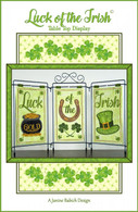 Luck Of The Irish Table Top Display Table Top Display Embroidery Design CD