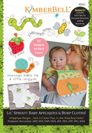 Lil Sprout Baby Appliques and Burp Cloths Machine Embroidery CD