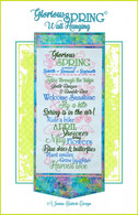 Glorious Spring Wall Hanging Machine Embroidery Design CD