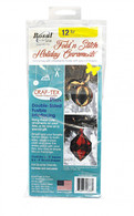 Bosal Fold N Stitch Holiday Ornaments Double Sided Fusible Interfacing
