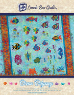 Ocean Odyssey Embroidery Applique Quilt Redemption Code with CD