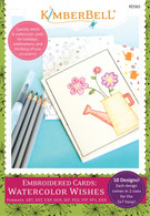 Embroidered Cards Watercolor Wishes Machine Embroidery CD