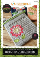 Crossbody Bag Trio Volume 2 Botanical Collection Machine Embroidery CD