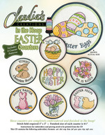 In The Hoop Easter Coasters Machine Embroidery CD