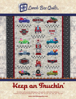Keep On Truckin Applique Quilt Redemption Code with CD