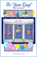 Its Your Day Table Top Display Machine Embroidery Design CD