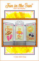 Fun In The Sun Table Top Display Machine Embroidery Design CD