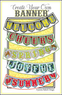 Create Your Own Banner Machine Embroidery Design CD