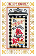 The Secret Ingredient Embroidery Design CD