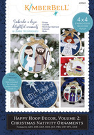 Happy Hoop Decor Volume 2 Christmas Nativity Ornaments Machine Embroidery CD