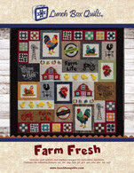 Farm Fresh Applique Machine Embroidery CD