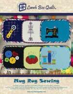 Mug Rug Sewing Applique Embroidery Designs CD