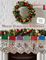 Merry Christmas Stockings Machine Embroidery CD