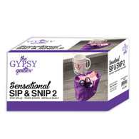 The Gypsy Quilter Sensational Sip and Snip 2.0 White