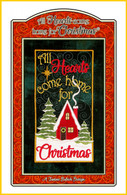 All Hearts Come Home for Christmas Table Top Display Embroidery Design CD