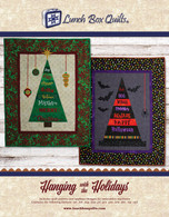 Hanging with the Holidays Applique Machine Embroidery Code and CD