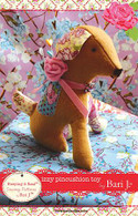 Izzy Pincushion Toy Sewing
