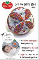 Brainy Baby Ball Pattern