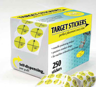 Perfect Placement Target Stickers Self-Dispensing Roll 250/pkg