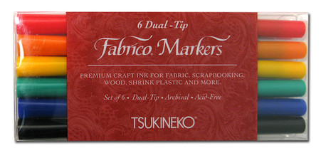 Fabrico Dual Marker Set Standard Colors