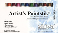 Paintstik Iridescent Professional Assortment 12/pkg