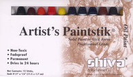 Paintstik Matte Professional Assortment 12/pkg