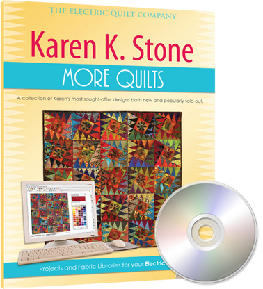Karen K. Stone MORE Quilts CD-ROM