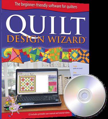 Quilt Design Wizard Software CD-ROM