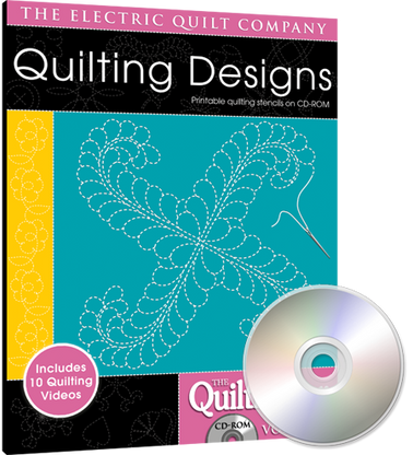 Quiltmaker's Quilting Designs Volume 4 CD-ROM