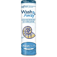 AquaFilm Topping Wash Away Stabilizer 8in x 10yd