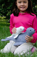 Slippy & Slide Stuffed Felt Seals