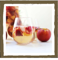 sangria & peaches (votive)